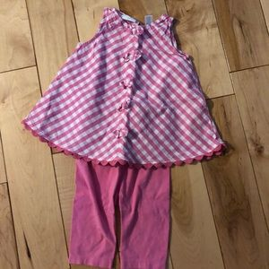 Other - Matching set pink gingham